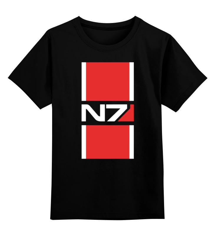 Детская футболка классическая унисекс Printio N7 (mass effect) футболка классическая printio n7 mass effect