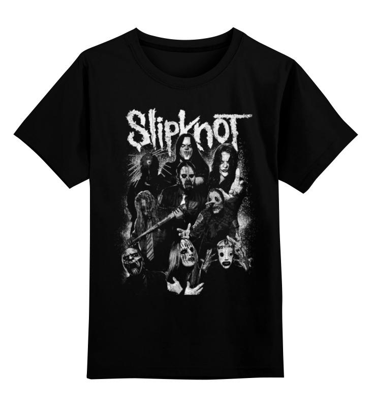 Детская футболка классическая унисекс Printio Slipknot футболка wearcraft premium printio slipknot