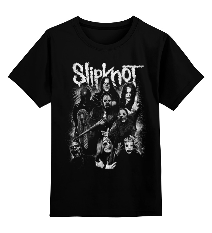 Детская футболка классическая унисекс Printio Slipknot slipknot slipknot 5 the gray chapter