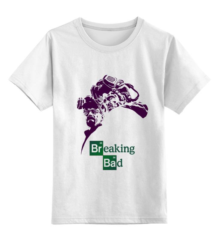 Детская футболка классическая унисекс Printio Breaking bad цены