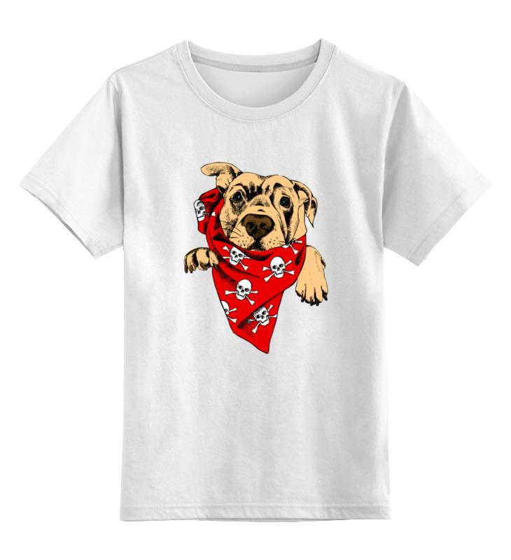 Детская футболка классическая унисекс Printio Верный друг неизвестный друг