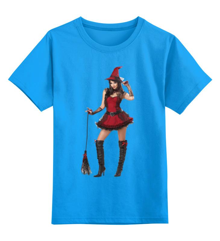 Детская футболка классическая унисекс Printio твоя любимая ведьма футболка классическая printio ведьма страна оз