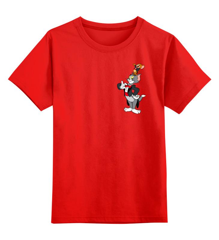 Детская футболка классическая унисекс Printio Том и джери том и джери 2 детская комната мдф