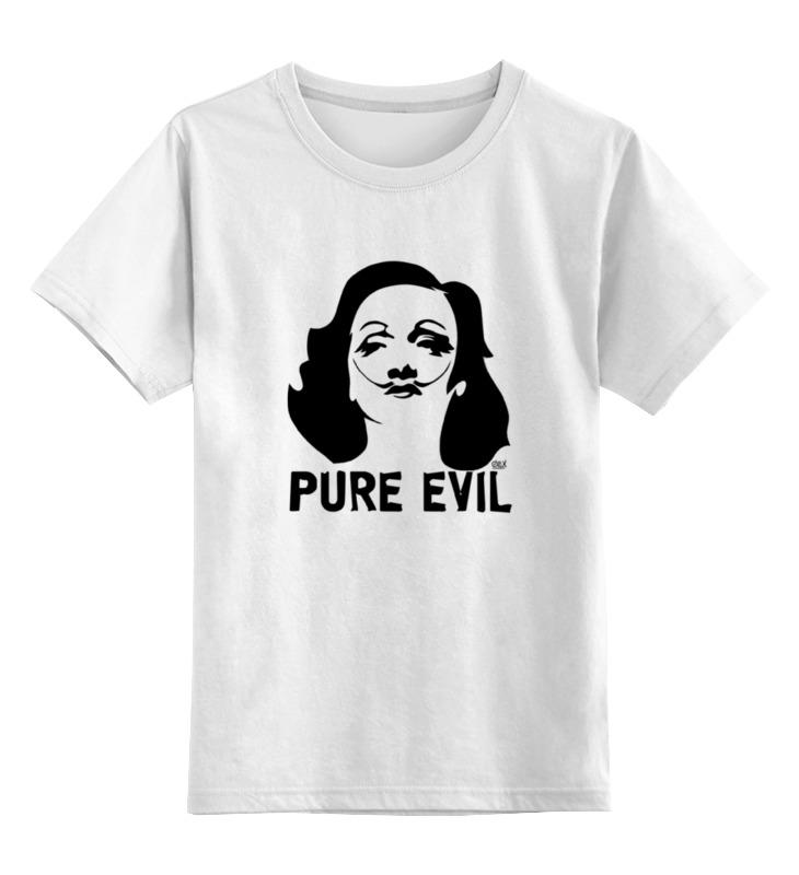 Детская футболка классическая унисекс Printio Pure evil