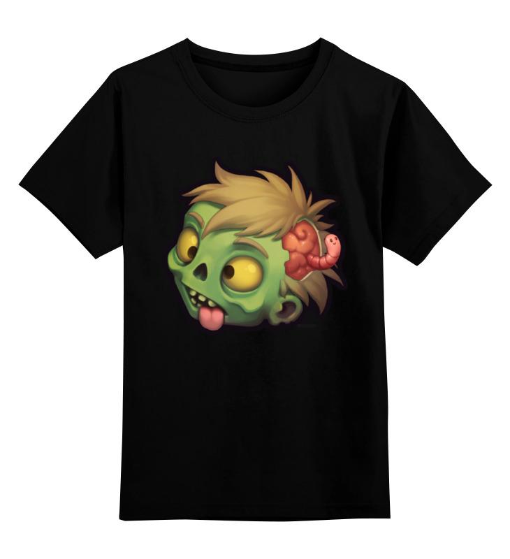 Детская футболка классическая унисекс Printio Zombie лонгслив printio рука зомби zombie hand