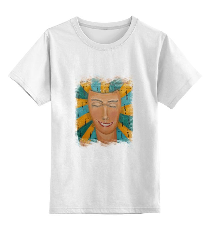 Детская футболка классическая унисекс Printio Маска. позитив