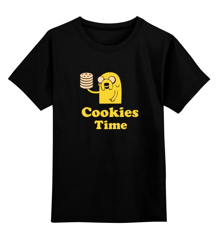 Детская футболка классическая унисекс Printio Jake cookies