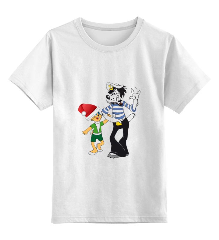 Детская футболка классическая унисекс Printio Ну погоди! цена и фото
