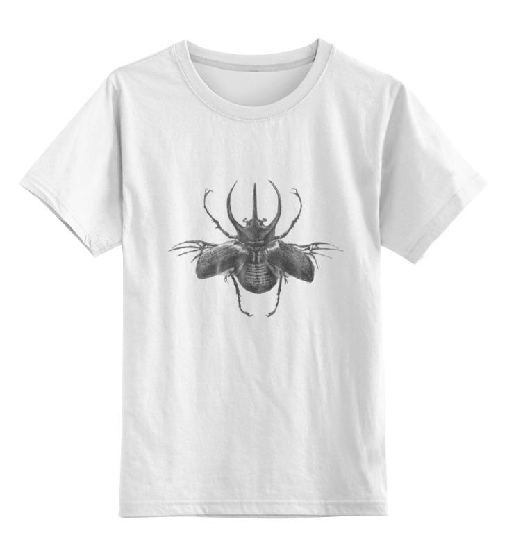Детская футболка классическая унисекс Printio Жук-атлас футболка классическая printio вольскваген жук