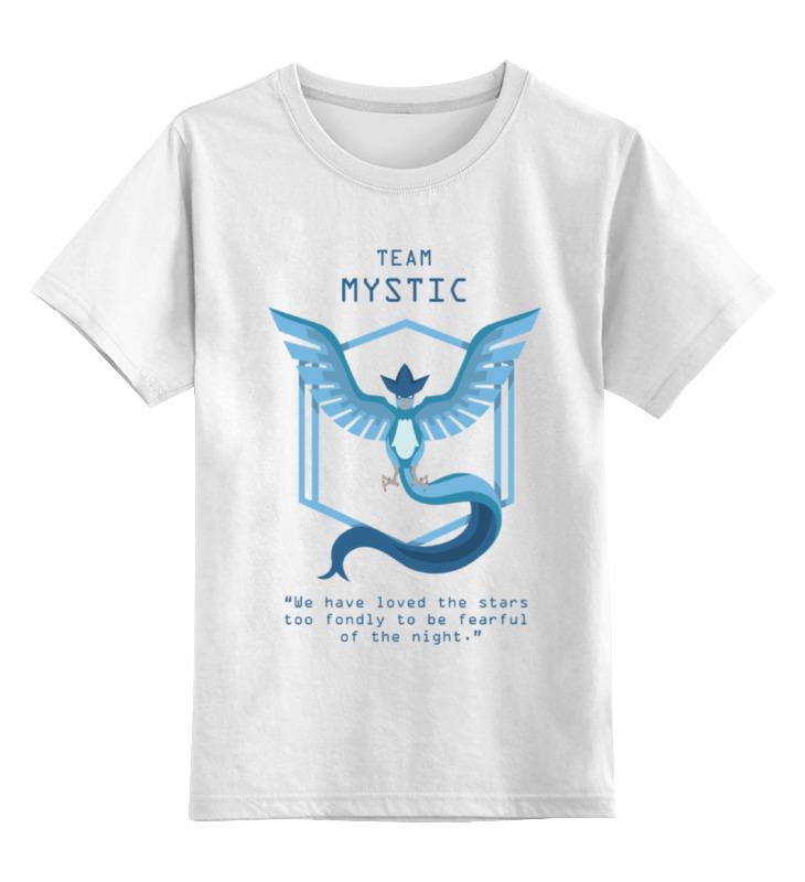 Детская футболка классическая унисекс Printio Pokemon go цена и фото