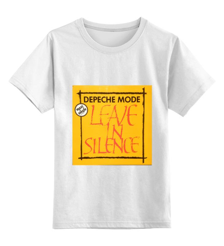 Детская футболка классическая унисекс Printio Depeche mode depeche mode depeche mode a broken frame 180 gr