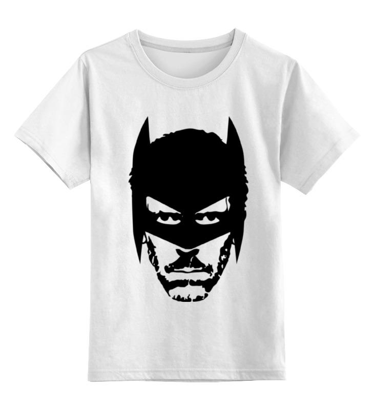 Детская футболка классическая унисекс Printio Доктор хаус в маске бэтмена цена