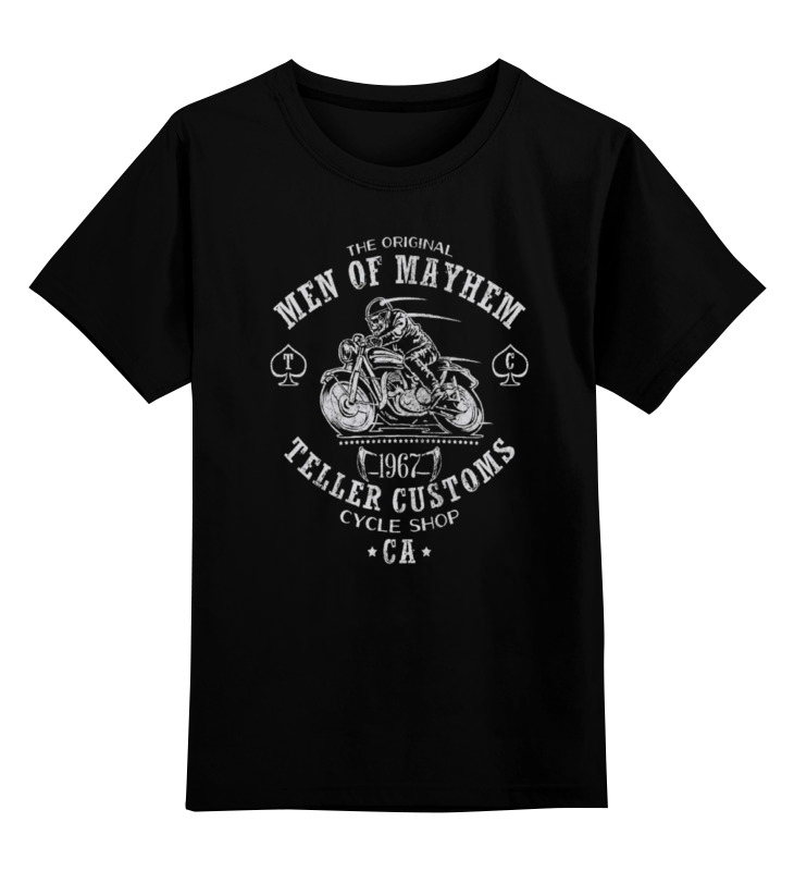 Детская футболка классическая унисекс Printio Sons of anarchy майка классическая printio sons of anarchy t shirt