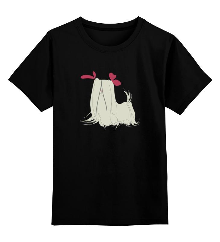 Детская футболка классическая унисекс Printio Забавная болонка