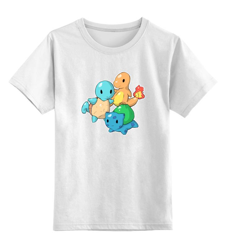 Детская футболка классическая унисекс Printio Покемоны sbart upf50 rashguard 2 bodyboard 1006