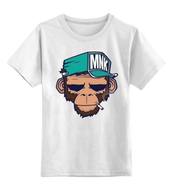 Детская футболка классическая унисекс Printio Mnk design. original design vialli design