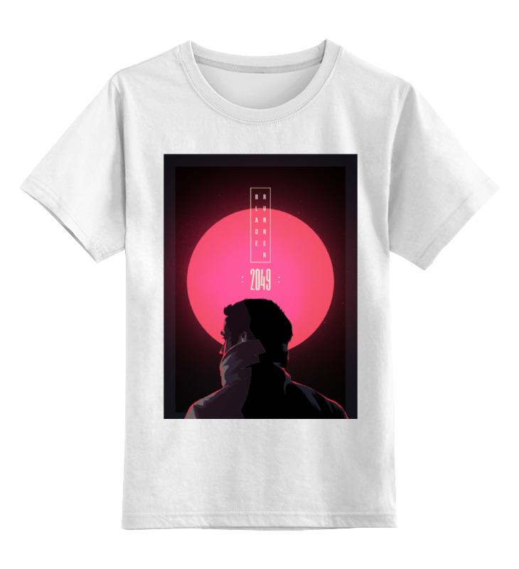 Детская футболка классическая унисекс Printio Бегущий по лезвию / blade runner 2049 runner