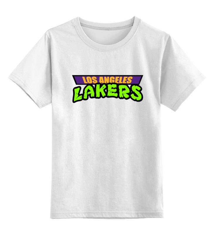 Детская футболка классическая унисекс Printio Лейкерс