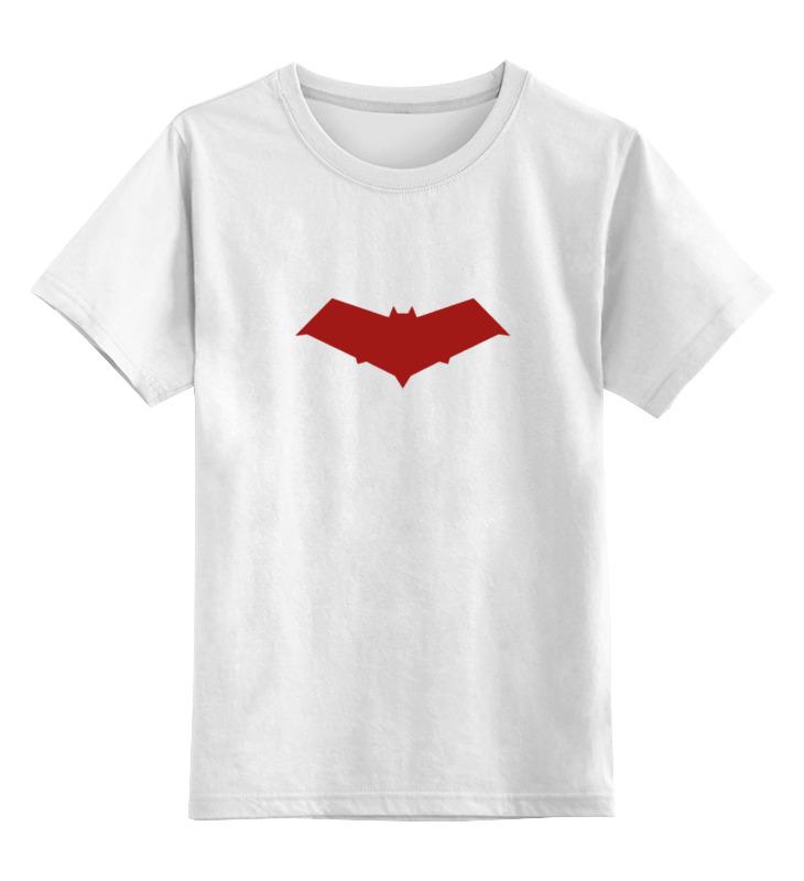 Детская футболка классическая унисекс Printio Красный колпак (red hood) толстовка классическая billabong d bah zip hood cardinal red