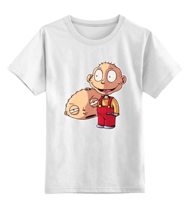 лонгслив printio ох уж эти детки Детская футболка классическая унисекс Printio Кроссовер: ох уж эти детки х гриффины