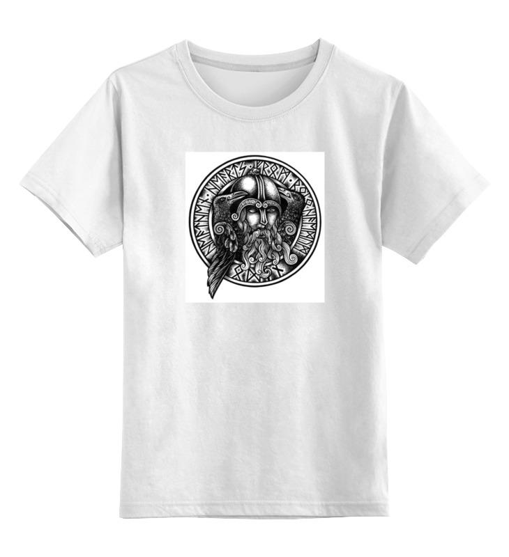 Детская футболка классическая унисекс Printio Великий один футболка классическая printio новгородская область великий новгород