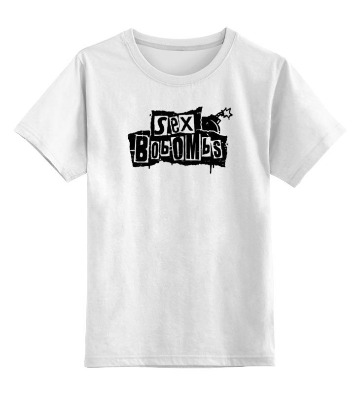 Детская футболка классическая унисекс Printio Sex bombs детская футболка классическая унисекс printio мотобайк