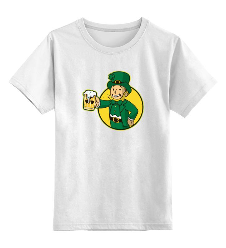 Детская футболка классическая унисекс Printio Ирландец фэллаут цена и фото