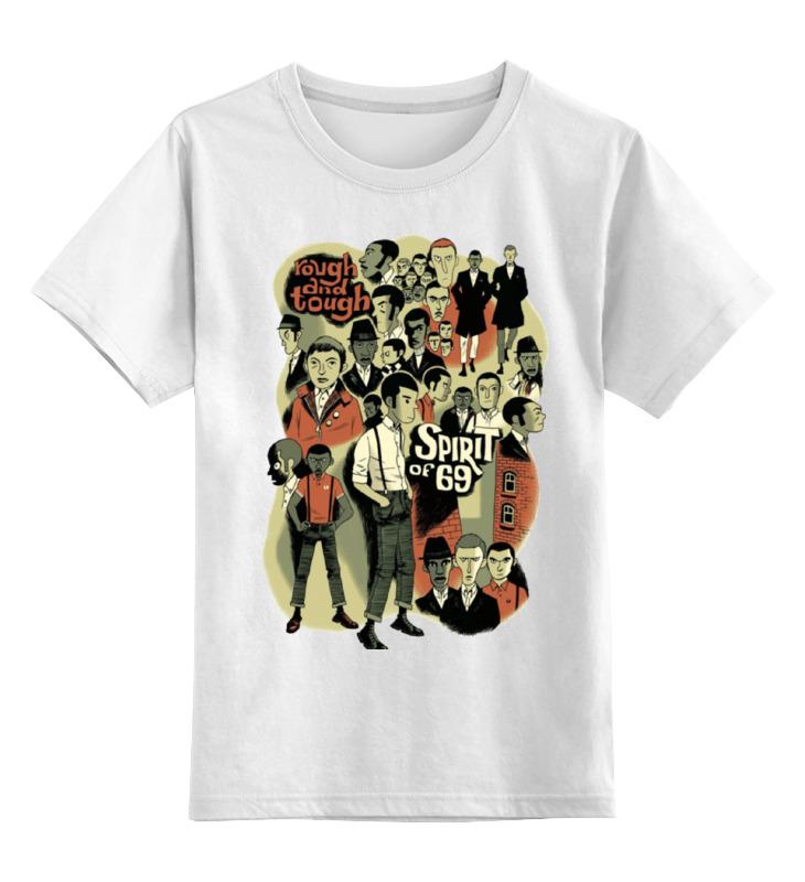 Детская футболка классическая унисекс Printio The spirit of 69 футболка rebel spirit rebel spirit re032emspj40