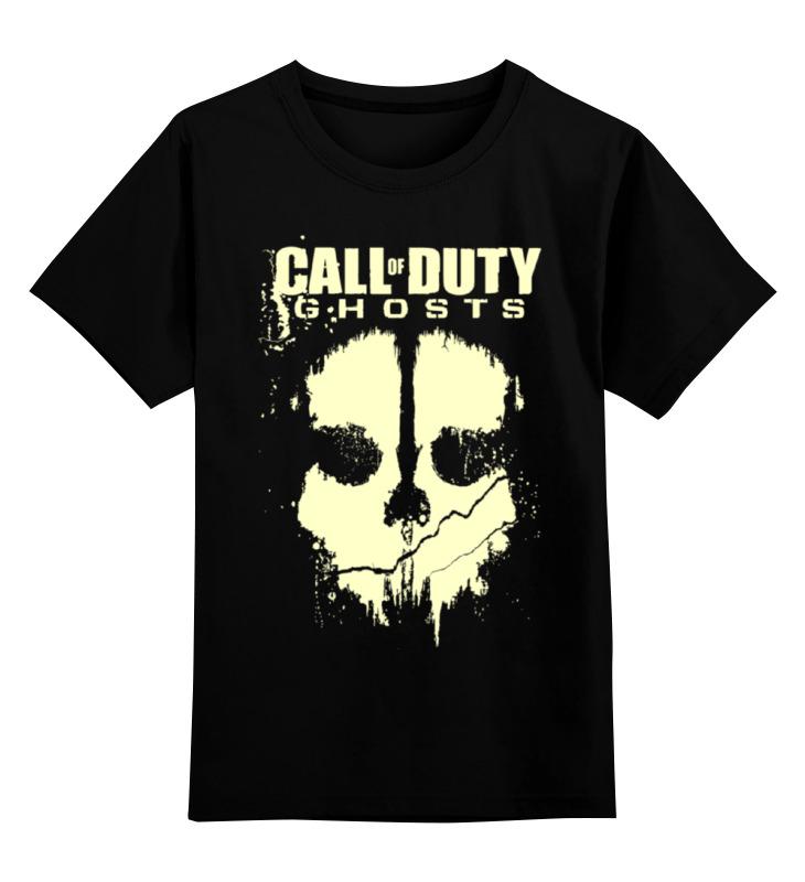 Детская футболка классическая унисекс Printio Call of duty ghosts футболка для беременных printio череп call of duty