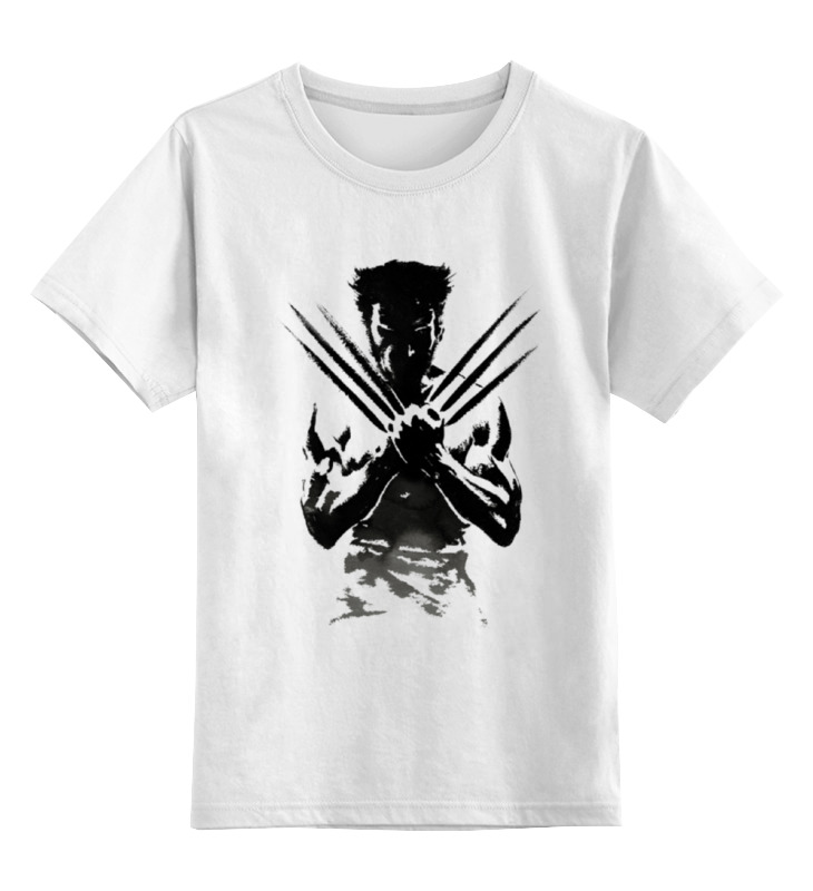 Детская футболка классическая унисекс Printio росомаха: бессмертный бессмертный