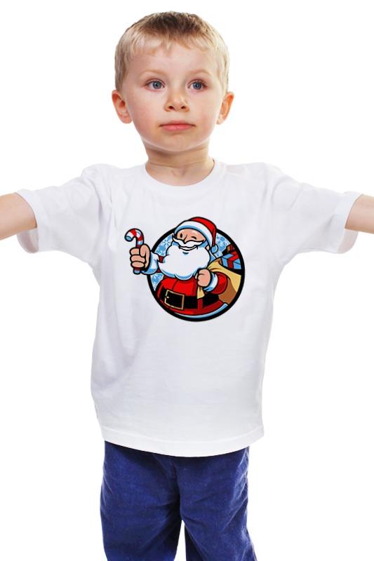 Детская футболка классическая унисекс Printio Санта детская футболка классическая унисекс printio мачете