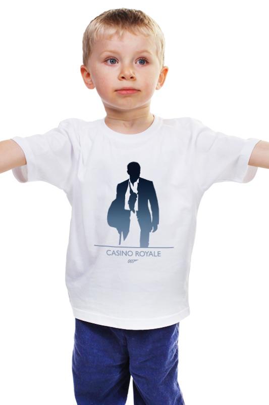 Детская футболка классическая унисекс Printio 007: казино «рояль»