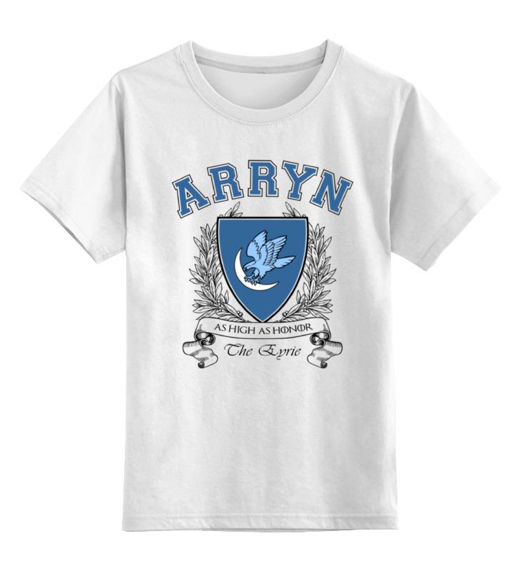Детская футболка классическая унисекс Printio Игра престолов. дом арренов футболка wearcraft premium printio игра престолов