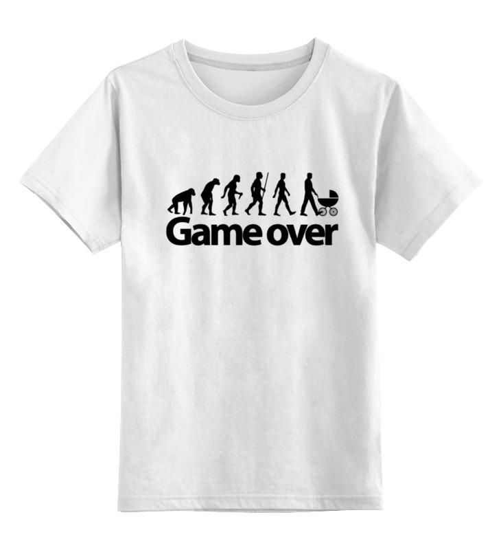 Фото - Детская футболка классическая унисекс Printio Game over (игра окончена) детская футболка классическая унисекс printio любовь окончена