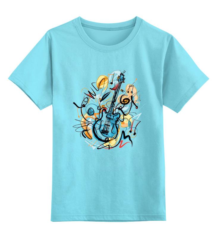 Детская футболка классическая унисекс Printio Музыкальная абстракция электронные игрушки bradex станция музыкальная мелодия детская