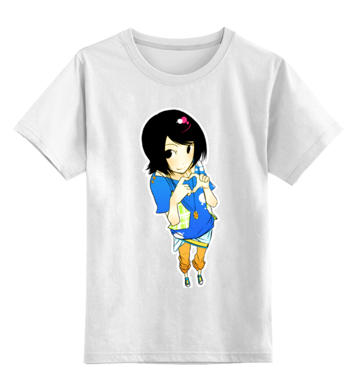 Детская футболка классическая унисекс Printio Анимешка футболка классическая printio анимешка