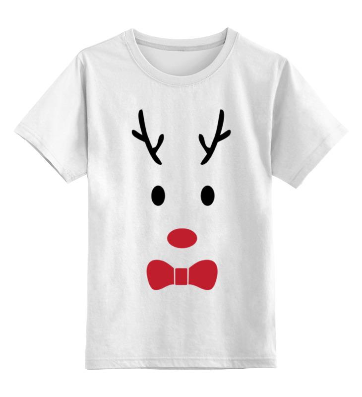 Детская футболка классическая унисекс Printio Олень sbart upf50 rashguard 2 bodyboard 1006