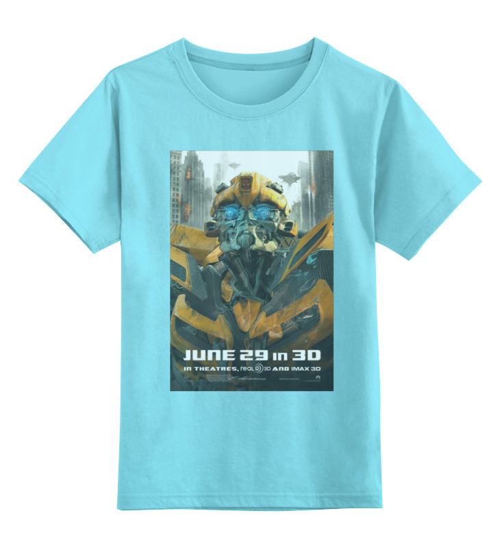 Детская футболка классическая унисекс Printio Transformers / трансформеры манипулятор ostroj