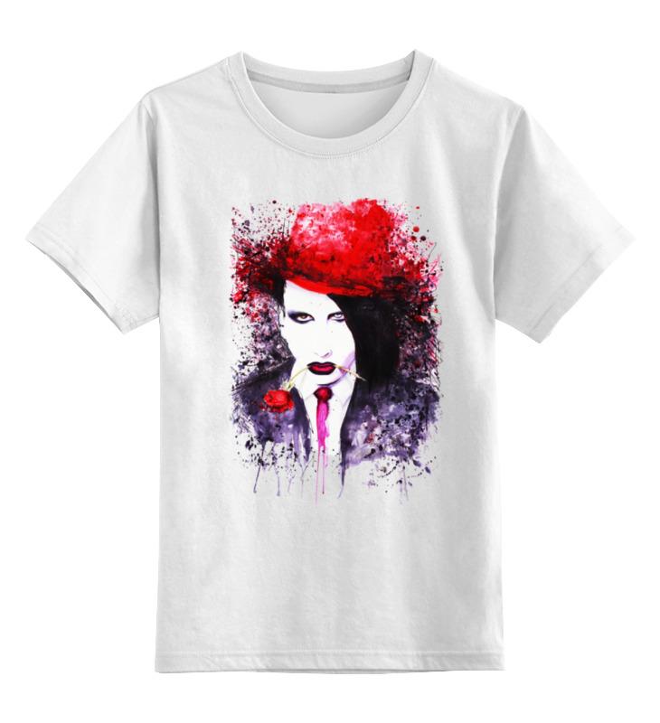 Детская футболка классическая унисекс Printio Marilyn manson детская футболка классическая унисекс printio ты моя мамочка