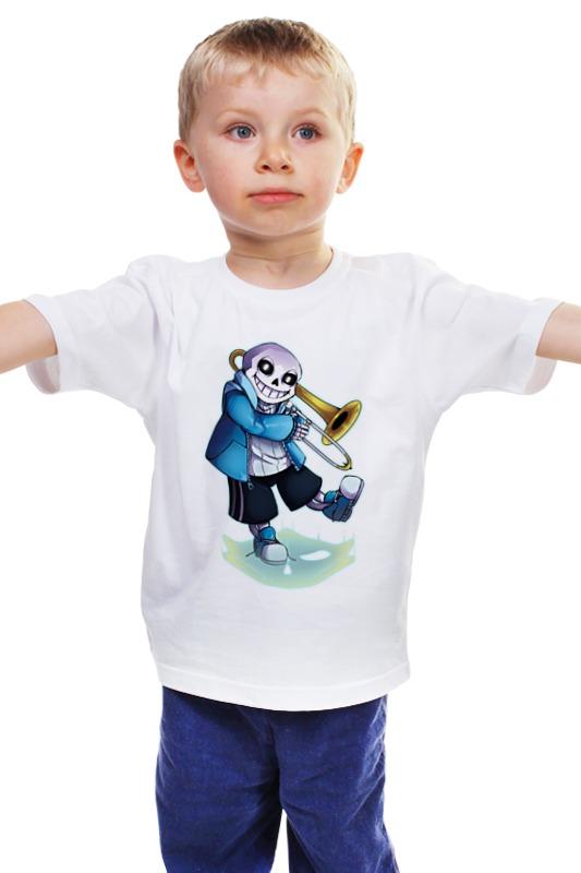 Детская футболка классическая унисекс Printio Undertale детская футболка классическая унисекс printio мачете