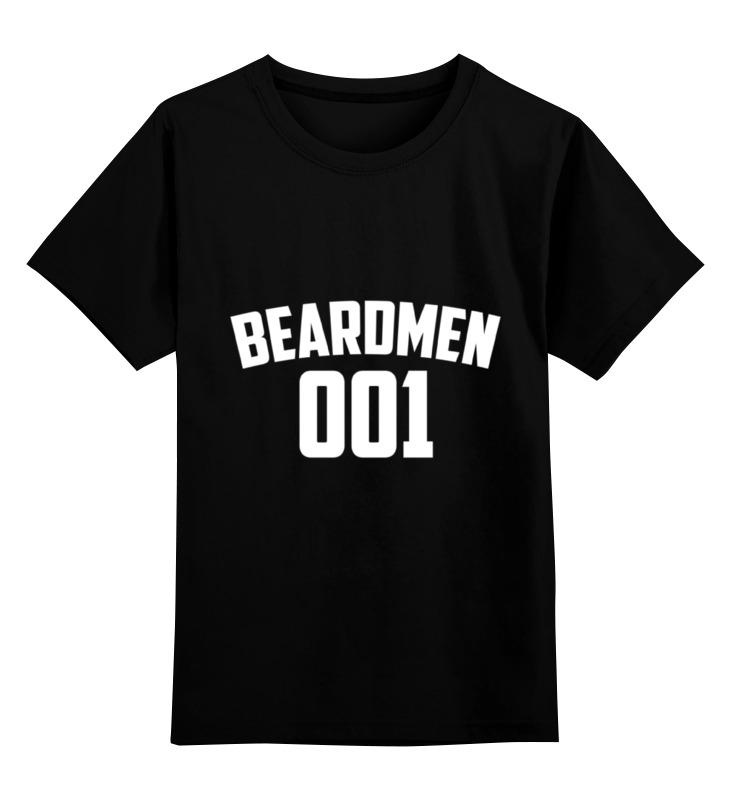 цена на Детская футболка классическая унисекс Printio Beardmen 001