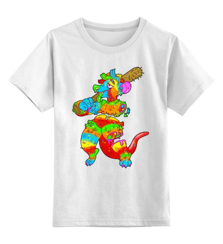 Детская футболка классическая унисекс Printio Dinosaur art смартфон cubot dinosaur