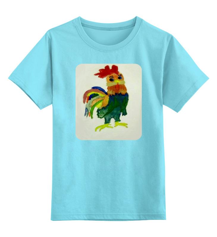 Детская футболка классическая унисекс Printio Петушок gangxun золотой цвет
