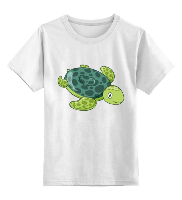 Детская футболка классическая унисекс Printio Черепаха детская футболка классическая унисекс printio hank moody хэнк муди californication