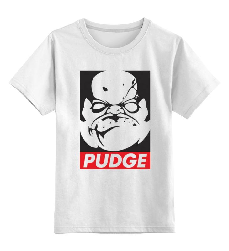 Детская футболка классическая унисекс Printio Dota 2 - pudge детская футболка классическая унисекс printio dota 2 logo