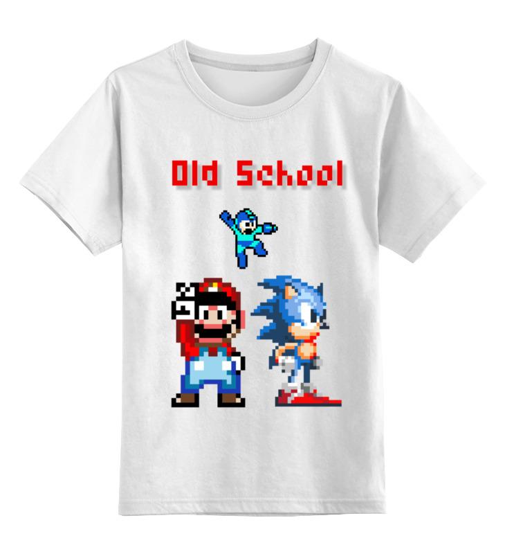 Детская футболка классическая унисекс Printio Old school! футболка old school
