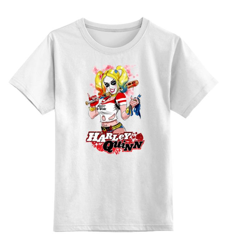 Детская футболка классическая унисекс Printio Harley quinn детская футболка классическая унисекс printio соник