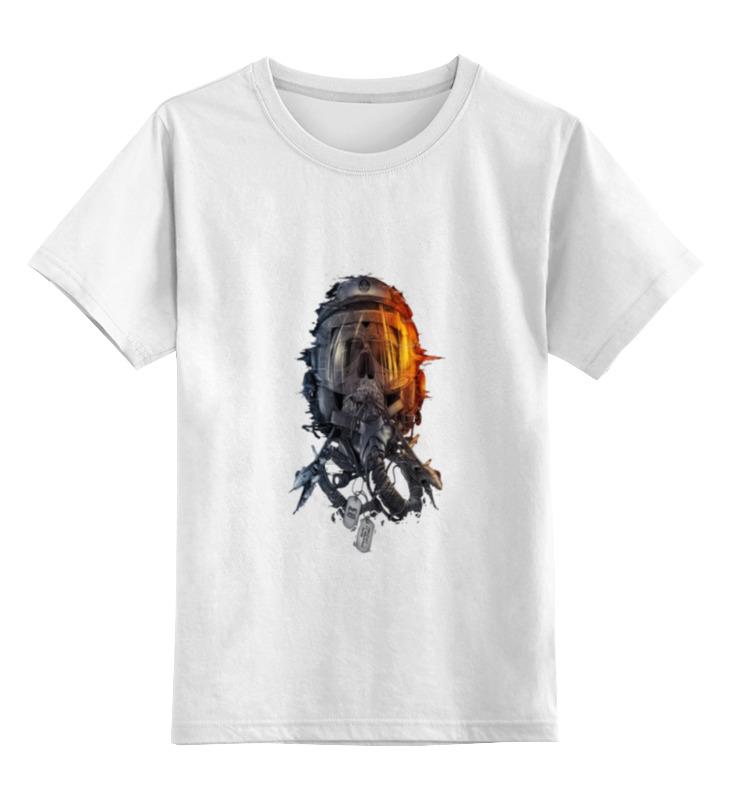 Детская футболка классическая унисекс Printio Пилот детская футболка классическая унисекс printio tie пилот