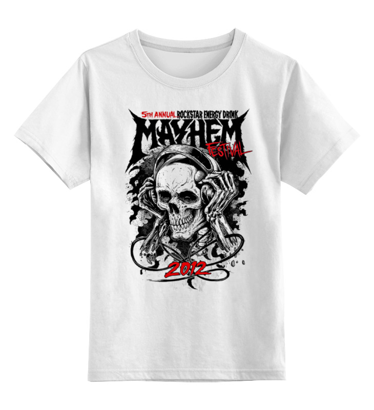 Детская футболка классическая унисекс Printio Skull art детская футболка классическая унисекс printio skull style