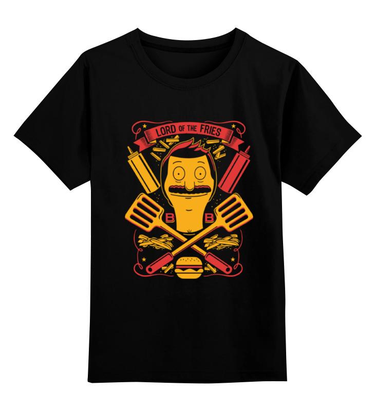Детская футболка классическая унисекс Printio Закусочная боба (bob's burgers) цена